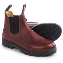 Blundstone 1431 Pull-On Boots -  Leather, Factory 2nds (For Men and Women) in Red Rub - 2nds