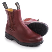 Blundstone 1442 Pull-On Boots - Leather, Factory 2nds (For Women) in Burgundy Rub - 2nds