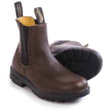 Blundstone 1444 Pull-On Boots - Leather, Factory 2nds (For Women) in Brown - 2nds