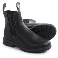 Blundstone 1448 Pull-On Boots - Leather, Factory 2nds (For Women) in Voltan Black - 2nds