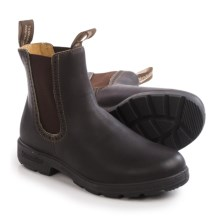 Blundstone 1449 Pull-On Boots - Leather, Factory 2nds (For Women) in Stout Brown - 2nds