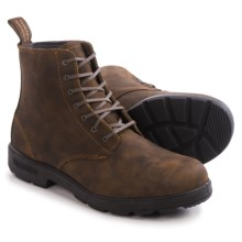 Blundstone 1450 Leather Boots - Lace-Ups, Factory 2nds (For Men and Women) in Rustic Brown - 2nds