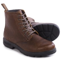 Blundstone 1454 Lace-Up Boots- Leather, Factory 2nds (For Men and Women) in Brown Tumbled - 2nds