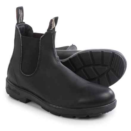 Blundstone 510 Pull-On Boots - Leather, Factory 2nds (For Men and Women) in Black - 2nds