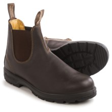 Blundstone 550 Chelsea Boots - Leather, Factory 2nds (For Men and Women) in Walnut - 2nds