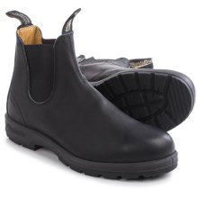 Blundstone 558 Pull-On Boots - Leather, Factory 2nds (For Men and Women) in Black - 2nds