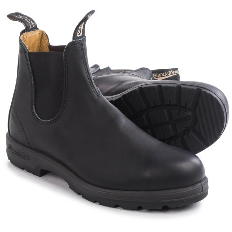 Blundstone 558 Pull On Boots Leather, Factory 2nds (For Men and Women)