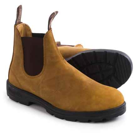 Blundstone 561  Pull-On Boots - Leather, Factory 2nds (For Men and Women) in Crazy Horse - 2nds