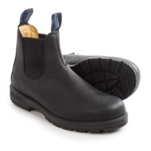 Blundstone 566 Pull-On Boots - Waterproof, Insulated, Factory 2nds (For Men and Women) in Black - 2nds