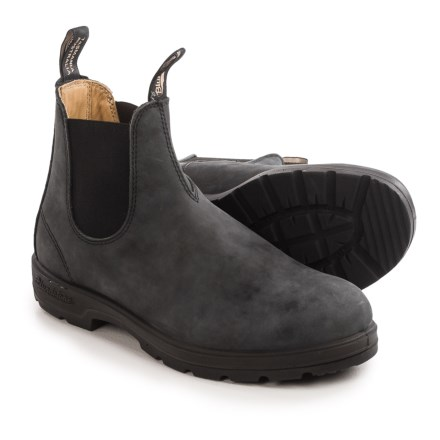 2d8a7528a211 Blundstone 587 Pull-On Boots - Leather, Factory 2nds (For Men and Women