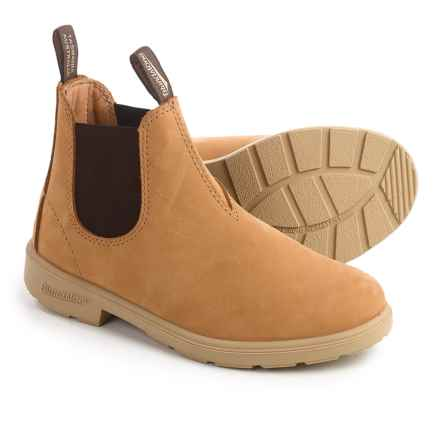 Blundstone Blunnies 1411 Boots - Nubuck, Factory 2nds (For Toddlers) in Wheat - 2nds
