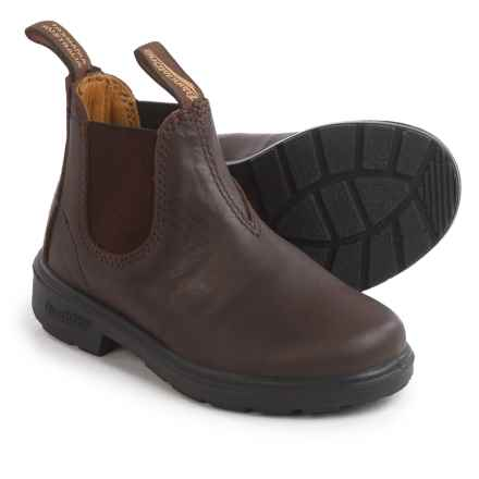 Blundstone Blunnies 530 Pull-On Boots - Leather, Factory 2nds (For Toddlers) in Chocolate - 2nds