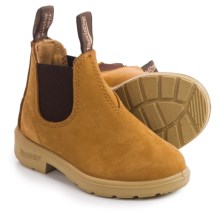 Blundstone Blunnies Chelsea Boots - Leather, Factory 2nds (For Toddlers) in Wheat/Brown - 2nds