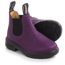 Blundstone Blunnies Chelsea Boots - Nubuck, Factory 2nds (For Toddlers) in Purple/Black - 2nds