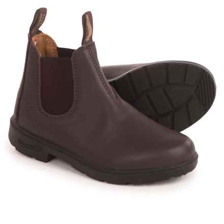 Blundstone Blunnies Leather Boots - Factory 2nds (For Little Kids) in Brown - 2nds