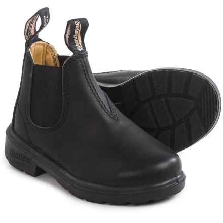 Blundstone Blunnies Leather Boots - Factory 2nds (For Toddlers) in Black - 2nds