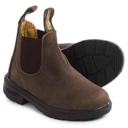 Blundstone Blunnies Leather Boots - Factory 2nds (For Toddlers) in Rustic Brown - 2nds