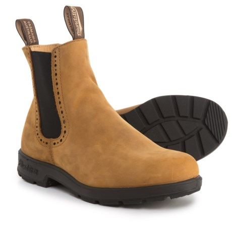 Blundstone Brogue Chelsea Boots - Leather, Factory 2nds (For Women) in Crazy Horse
