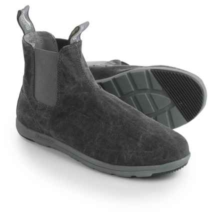 Blundstone Canvas Chelsea Boots - Factory 2nds (For Men and Women) in Black - Closeouts
