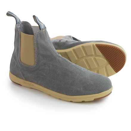 Blundstone Canvas Chelsea Boots - Factory 2nds (For Men and Women) in Grey - Closeouts