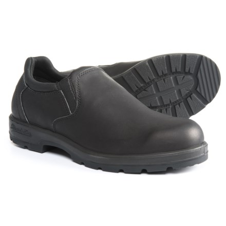 Blundstone Casual Slip-On Leather Shoes - Factory 2nds (For Men) in Black 7bae1cc1c