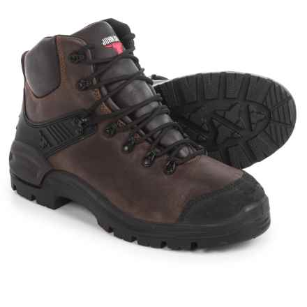 Blundstone John Bull 3507 Highlander Boots - Lace-Ups, Factory 2nds (For Men and Women) in Rustic Brown - 2nds