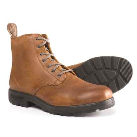 Blundstone Lace-Up Boots - Leather, Factory 2nds (For Men) in Tan Tumbled - Closeouts