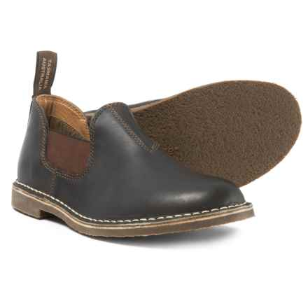 Blundstone Low Casual Chelsea Boots - Leather, Factory 2nds (For Men) in Stout Brown - Closeouts