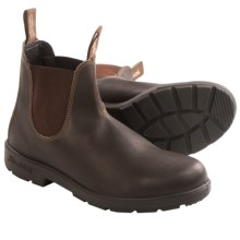 Blundstone Original 500 Pull-On Boots - Factory 2nds (For Men and Women) in Stout Brown - 2nds