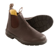 Blundstone Pull-On Boots - Factory 2nds (For Boys and Girls) in Chocolate - 2nds