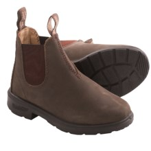 Blundstone Pull-On Boots - Factory 2nds (For Boys and Girls) in Rustic Brown - 2nds