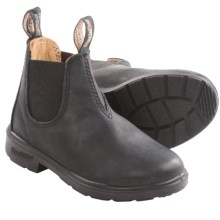 Blundstone Pull-On Boots - Factory 2nds (For Little Kids) in Black - 2nds