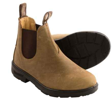 Blundstone Pull-On Boots - Factory 2nds (For Little Kids) in Crazy Horse - 2nds