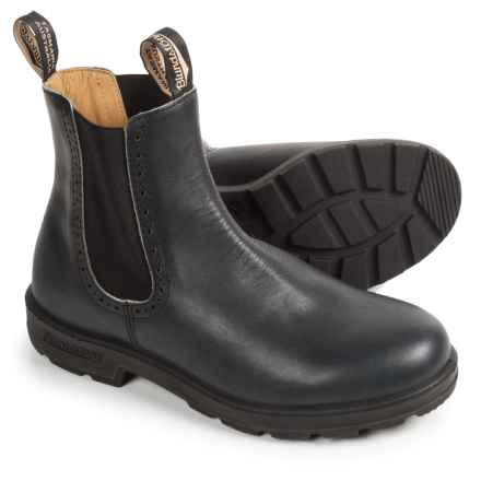 Blundstone Pull-On Boots - Leather, Factory 2nds (For Women) in Spruce - 2nds
