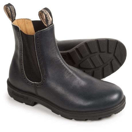 Blundstone Pull-On Boots - Leather, Factory 2nds (For Women) in Spruce