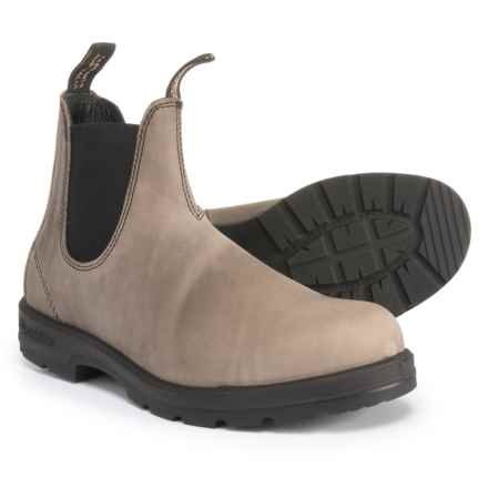 Blundstone Super 550 Chelsea Boots - Leather, Factory 2nds (For Men) in Grey Leather - Closeouts