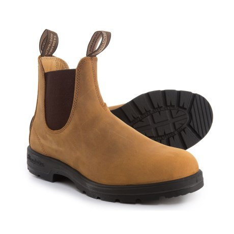 Blundstone Super 550 Series Chelsea Boots - Factory 2nds (For Men and Women) in Crazy Horse