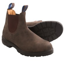 Blundstone Thinsulate® Pull-On Boots - Factory 2nds (For Men and Women) in Rustic Brown - 2nds