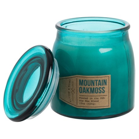 Blythe & Flint Mountain Oakmoss Candle - 15 oz. in See Photo