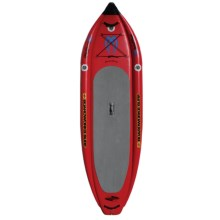 """Boardworks Badfish MCIT Inflatable Stand-Up Paddle Board - 11'6""""x2'11"""" in Red/Red/Black - Closeouts"""