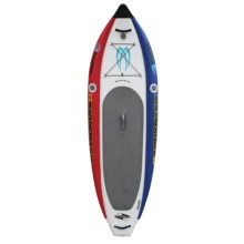 "Boardworks Badfish MCIT Inflatable Stand-Up Paddle Board - 11'6""x2'11"" in Red/White/Blue - Closeouts"