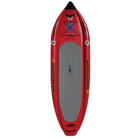 Boardworks Badfish MCIT Inflatable Stand Up Paddle Board 116x2'11""