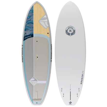 "Boardworks EPXV Kraken Stand-Up Paddle Board - 9'9"" in Wood/Grey - Closeouts"