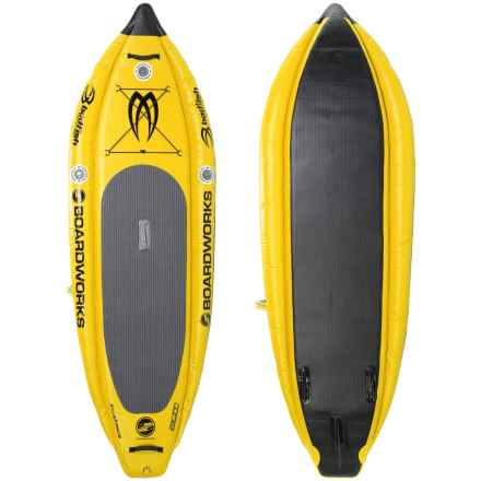 Boardworks MCIT Inflatable Stand-Up Paddle Board - 9' in Kodak Yellow/Black - Closeouts