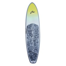 "Boardworks Rusty Stand-Up Paddleboard- 9'8"" in Yellow/Light Grey/Light Grey - Closeouts"