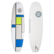 """Boardworks SDK Joyride Stand-Up Paddle Board - 9'11"""" in Blue/Grey/Green - Closeouts"""