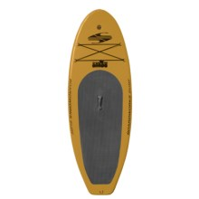 "Boardworks SHUBU Inflatable Stand-Up Paddle Board - 8'2"", Wide in Yellow/Grey/Orange - 2nds"