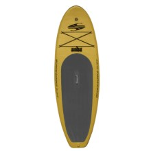 "Boardworks SHUBU Inflatable Stand-Up Paddle Board - 9'2"", Wide in Yellow/Black/Olivegreen - 2nds"