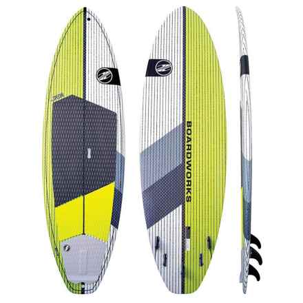 "Boardworks Special Stand-Up Paddle Board - 9'10"" in Lime/White - Closeouts"