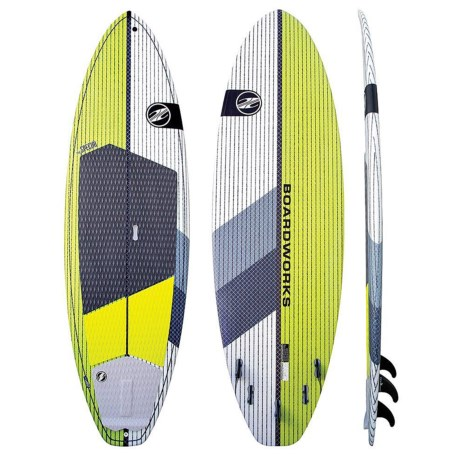 "Boardworks Special Stand-Up Paddle Board - 9'10"" in Lime/White"